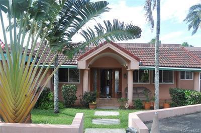 Kaneohe Single Family Home For Sale: 45-188 Kaneohe Bay Drive