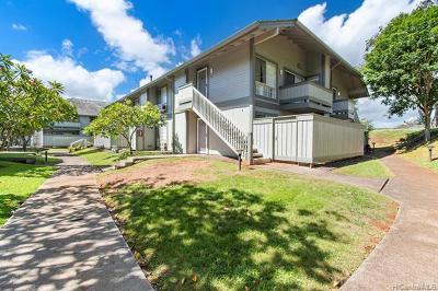 Waipahu Condo/Townhouse For Sale: 94-1449 Welina Loop #3W
