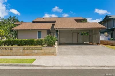 Mililani Single Family Home For Sale: 94-467 Alapoai Street