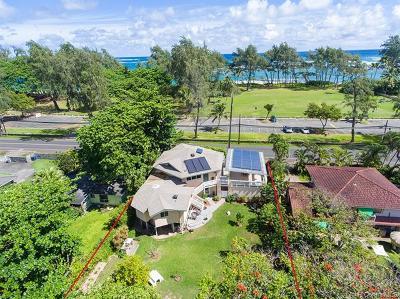 Laie Single Family Home For Sale: 55-044 Kamehameha Highway