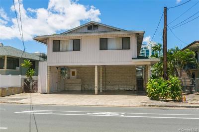 Honolulu County Single Family Home For Sale: 612 University Avenue
