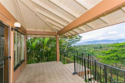 Pearl City Condo/Townhouse For Sale: 98-1750 Kaahumanu Street #D