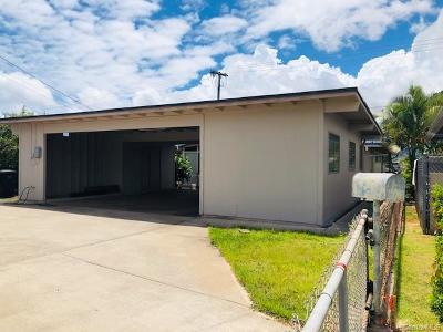 Pearl City Single Family Home For Sale: 891 Hoomoana Street