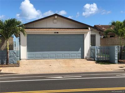 Waipahu Single Family Home For Sale: 94-159 Kupuna Loop