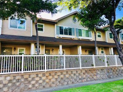 Ewa Beach Condo/Townhouse For Sale: 91-1030 Kaileolea Drive #E3