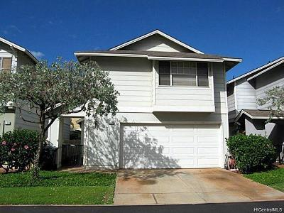 Ewa Beach Single Family Home For Sale: 91-2048 Luahoana Street #118