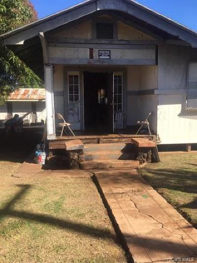 Honolulu Single Family Home For Sale: 1434 Meyers Street