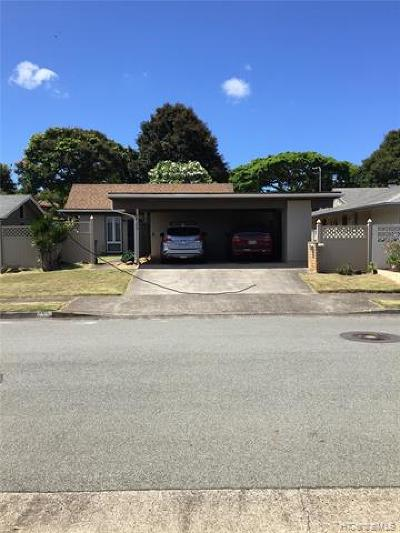 Mililani Single Family Home For Sale: 94-374 Makalu Loop