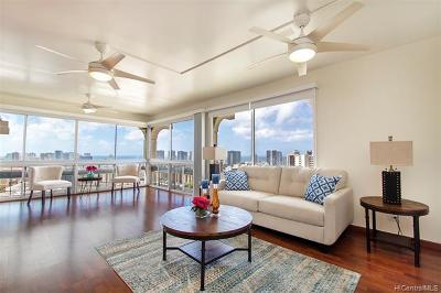 Honolulu Condo/Townhouse For Sale: 1022 Prospect Street #1102B