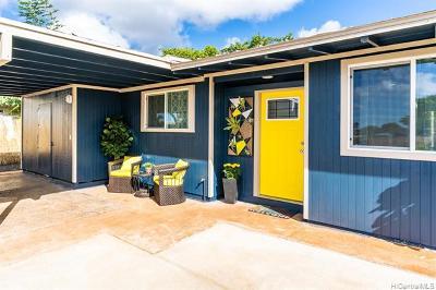 Waipahu Single Family Home For Sale: 94-222 Kenola Place