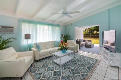 Kailua Single Family Home For Sale: 997 Holoholo Street