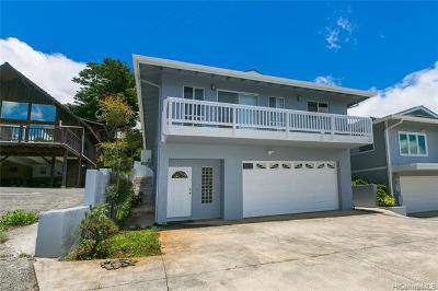 Honolulu Single Family Home For Sale: 2742b1 Laniloa Road #B1