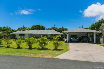 Kailua Single Family Home For Sale: 129 Ohana Street