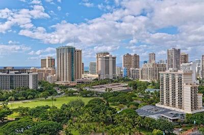 Honolulu Condo/Townhouse For Sale: 383 Kalaimoku Street #2109