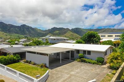Honolulu Single Family Home For Sale: 694 Kalalea Street