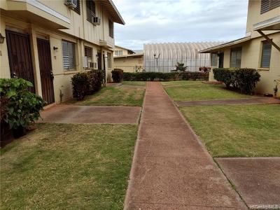 Ewa Beach Condo/Townhouse For Sale: 91-593 Kuilioloa Place #Y2