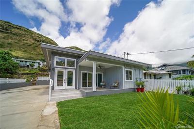Aina Haina Single Family Home For Sale: 784 Hao Street