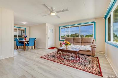 Pearl City Single Family Home For Sale: 1437 Kaleilani Street