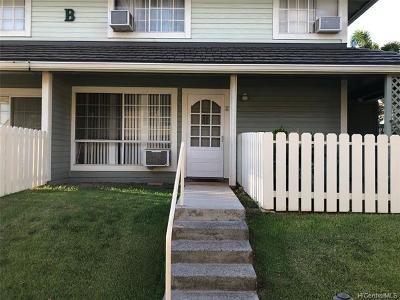 Waipahu Condo/Townhouse For Sale: 94-1505 Waipio Uka Street #B-101