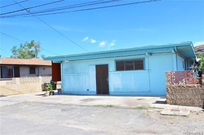 Waianae Single Family Home For Sale: 87-140 Palakamana Street