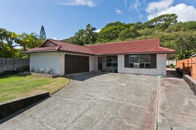 Kailua Single Family Home For Sale: 1412 Kina Street