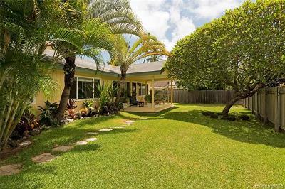 Kailua Single Family Home For Sale: 364 Auwinala Road