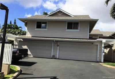 Waipahu HI Condo/Townhouse For Sale: $550,000