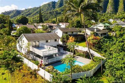 Kaneohe Single Family Home For Sale: 47-627 Nukupuu Street