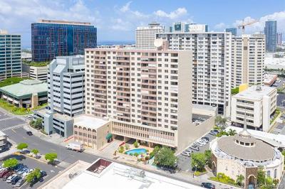 Honolulu Condo/Townhouse For Sale: 750 Kaheka Street #1406