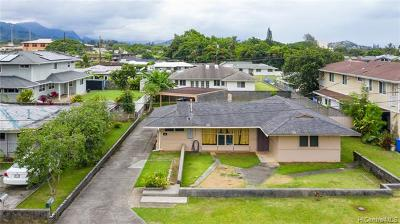 Kaneohe Single Family Home For Sale: 45-253 Namoku Place