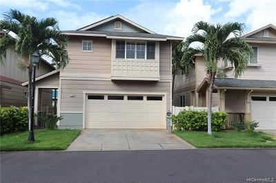 Ewa Beach Single Family Home For Sale: 91-604 Makalea Street #62