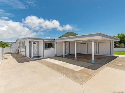 Koko Head Terrace Single Family Home For Sale: 7312 Kauhako Street