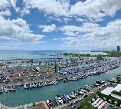 Honolulu Condo/Townhouse For Sale: 1777 Ala Moana Boulevard #1729