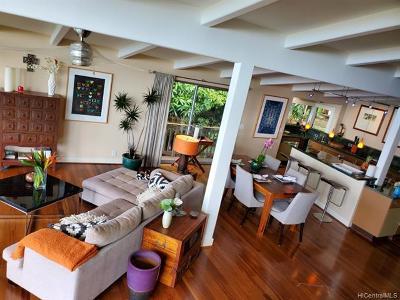 Honolulu Single Family Home For Sale: 1929 Halekoa Drive