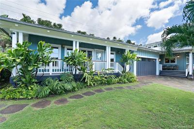 Haleiwa Single Family Home For Sale: 58-200 Napoonala Place