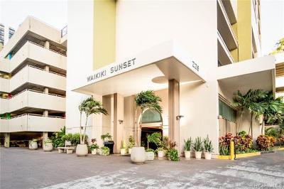 Honolulu County Condo/Townhouse For Sale: 229 Paoakalani Avenue #1010