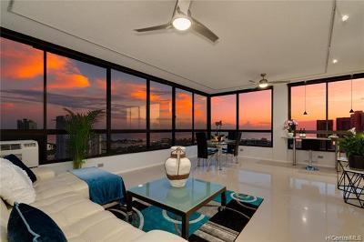Honolulu Condo/Townhouse For Sale: 876 Curtis Street #3704