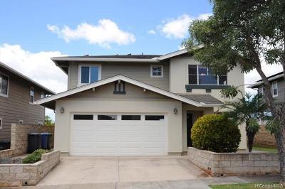 Waipahu Single Family Home For Sale: 94-474 Ohapali Street