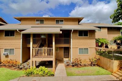 Pearl City Condo/Townhouse For Sale: 98-1369 Koaheahe Place #89