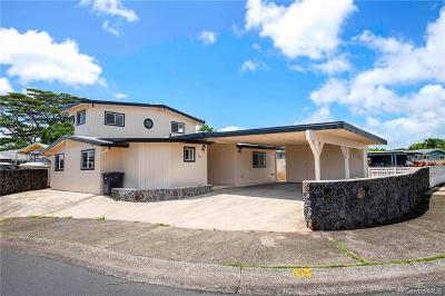 Pearl City Single Family Home For Sale: 2340 Apoepoe Street