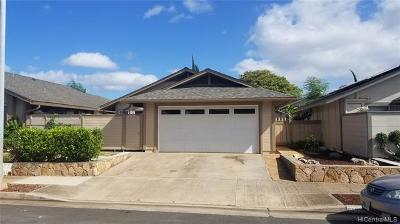 Single Family Home For Sale: 91-1052 Piipii Street