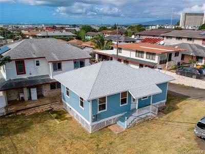 Honolulu Single Family Home For Sale: 1917 Uhu Street #A