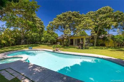 Kailua Single Family Home For Sale: 272 Kuupua Street