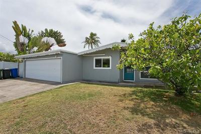 Kailua Single Family Home For Sale: 616 Wanaao Road