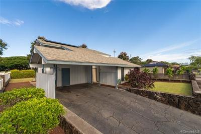 Mililani Single Family Home For Sale: 94-257 Hokulewa Loop