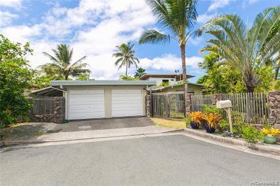 Kailua Single Family Home For Sale: 234 Ilikea Place