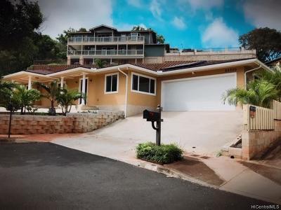 Kapolei Single Family Home For Sale: 92-300 Hookili Place #1