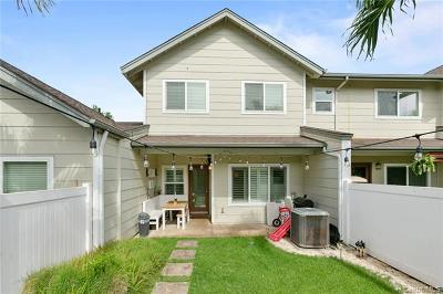 Ewa Beach Condo/Townhouse For Sale: 91-1070 Kaileolea Drive #AA4