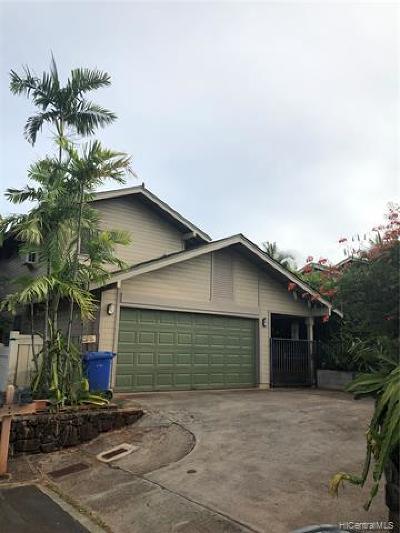 Waipahu Single Family Home For Sale: 94-1017 Kamiki Street
