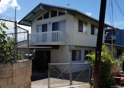 Honolulu Single Family Home For Sale: 1009 Rawlins Lane
